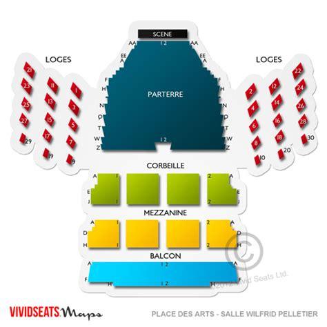 place des arts seating chart theatre maisonneuve place des arts salle wilfrid pelletier seating chart