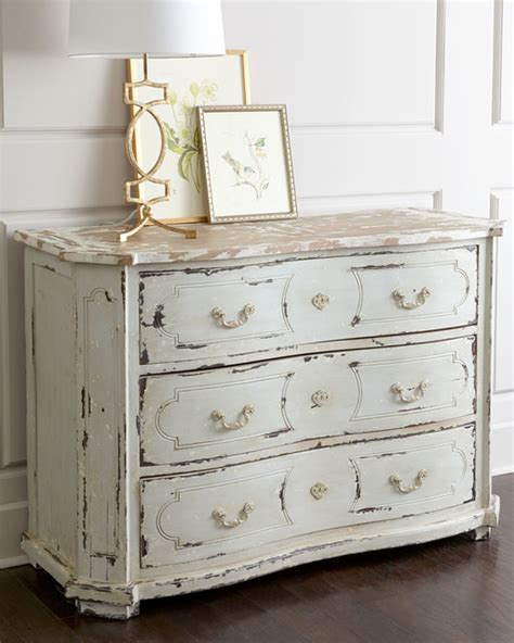 Distressed Bedroom Furniture by Devino Chest White Distressed Dressers