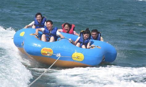 Donut Boat bali donut boat tour