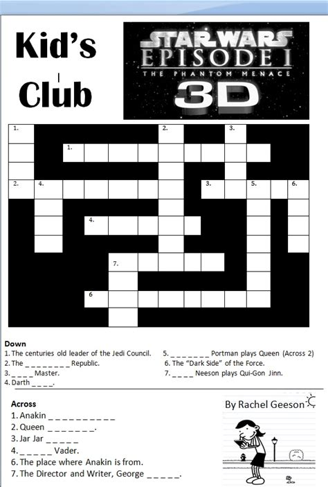 printable crossword puzzle star wars 301 moved permanently