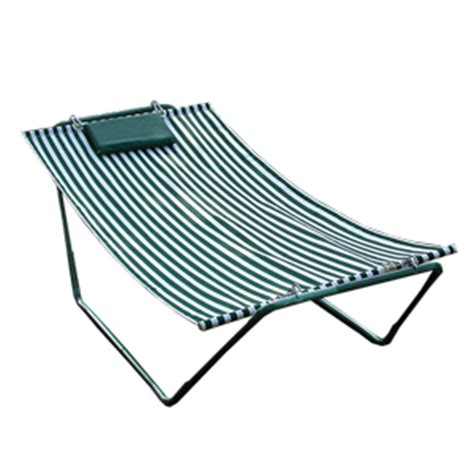 Hammock Pad Replacement Algoma 4 Point Hammock Lounger Green And White Stripe