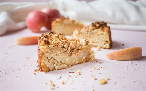 quinoa kuchen gesunder apfel quinoa streuselkuchen low carb low carb