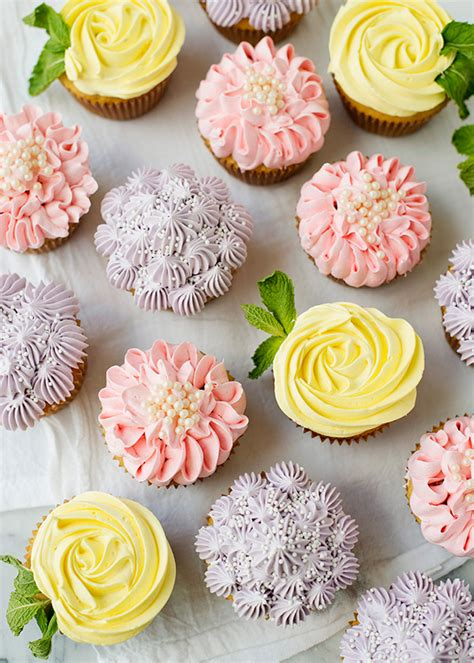 Best Mom Gifts by Flower Cupcakes Roses Zinnias And Hydrangeas Baked Bree