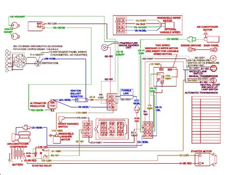 electrical diagrams  chrysler dodge  plymouth cars