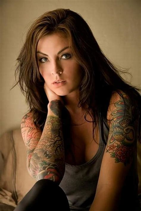 Girls with Tattoos.. Attractive or not?   RealGM
