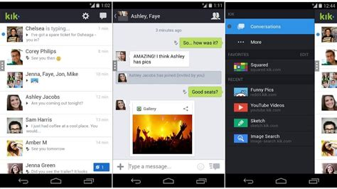 kik app android kik messenger iphone images