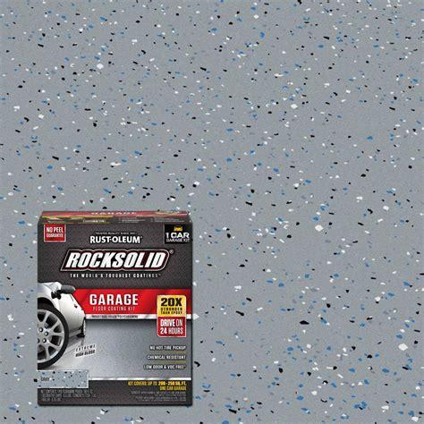 Garage Bausatz Massiv by Rust Oleum Rocksolid 76 Oz Gray 1 Car Garage Floor Kit
