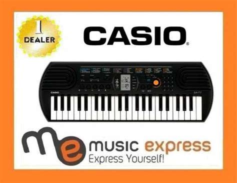 Casio Keyboard Mini Sa 77 yamaha ez220 keyboard szybka wysy蛯ka zdj苹cie na imged