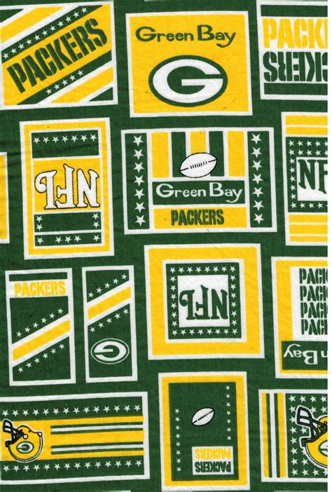 Green Bay Packers Nfl Fabric By Fabric Traditions Nflp