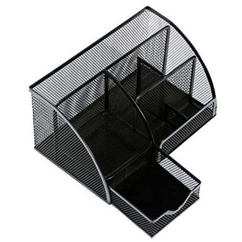 desk caddy organizer officearmy desktop organizer 1 mesh metal desk caddy