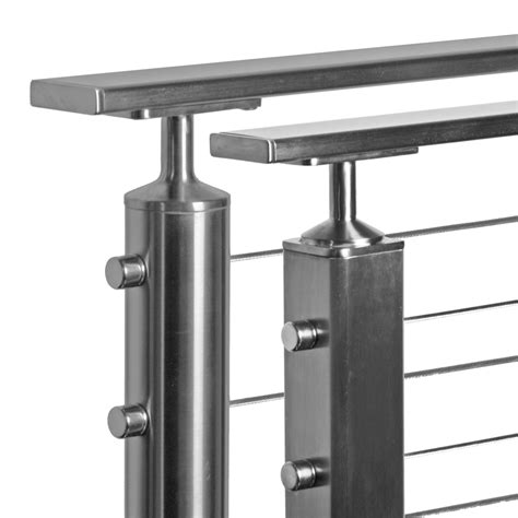 stainless steel banister rails flat rectangular stainless steel tube for toprail handrail