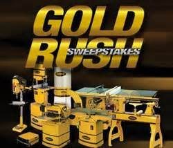 Gold Rush Giveaway - woodcraft invites entries for gold rush sweepstakes