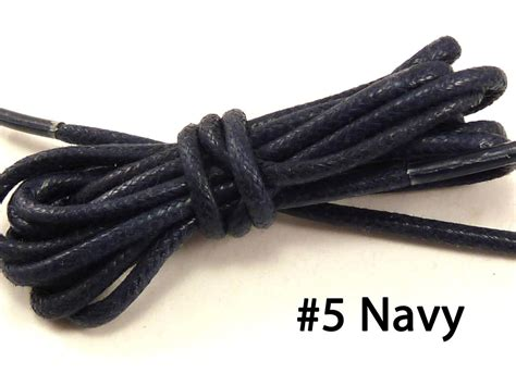 new pair cotton waxed colored dress shoelaces laces 30 quot in 19 color ebay