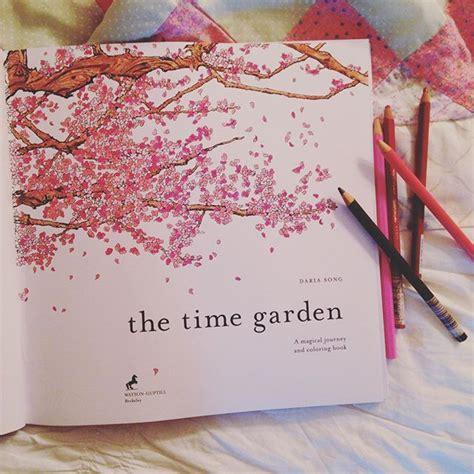 The Time Garden coloring books the time garden