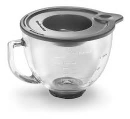kitchenaid k45 k45ss stand mixer glass bowl with tight