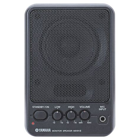 Yamaha Monitor Speaker yamaha ms101iii powered monitor speaker musician s friend