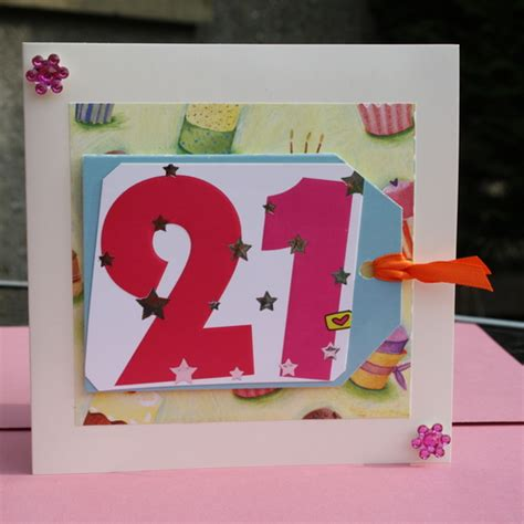Handmade 21st Birthday Cards - folksy buy quot handmade 21st birthday card quot craftjuice