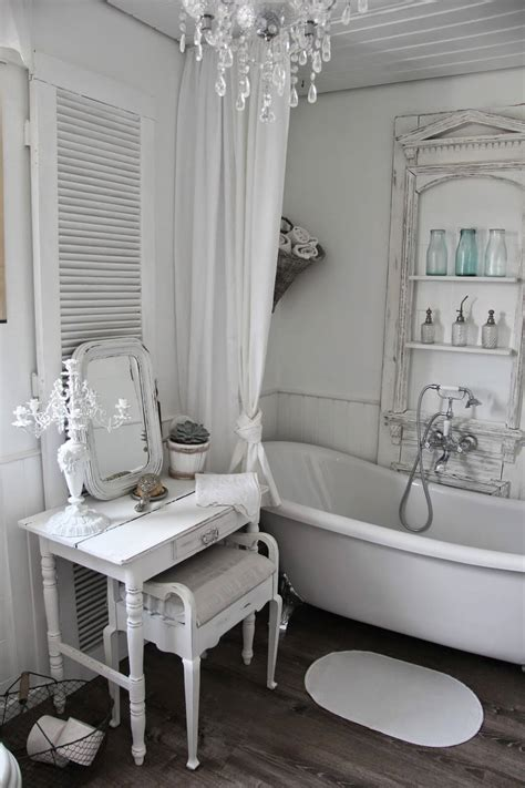 shabby chic small bathroom ideas 15 lovely shabby chic bathroom decor ideas style motivation