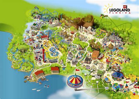 legoland florida park map legoland florida map images