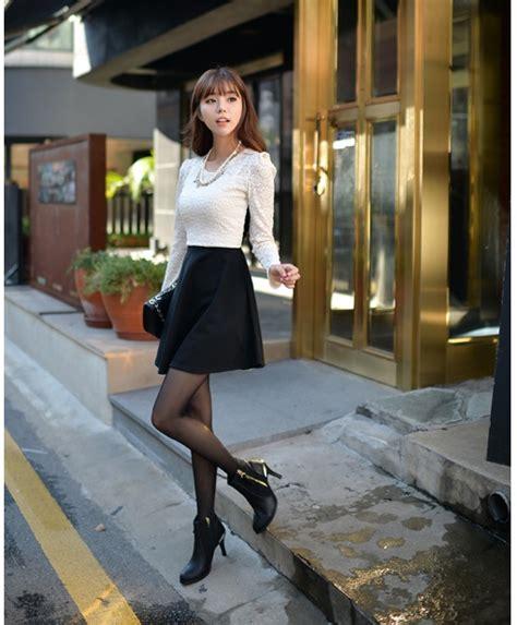 Kutubaru Bahan Brukat Korea dress brokat korea terbaru 2014 model terbaru jual murah import kerja