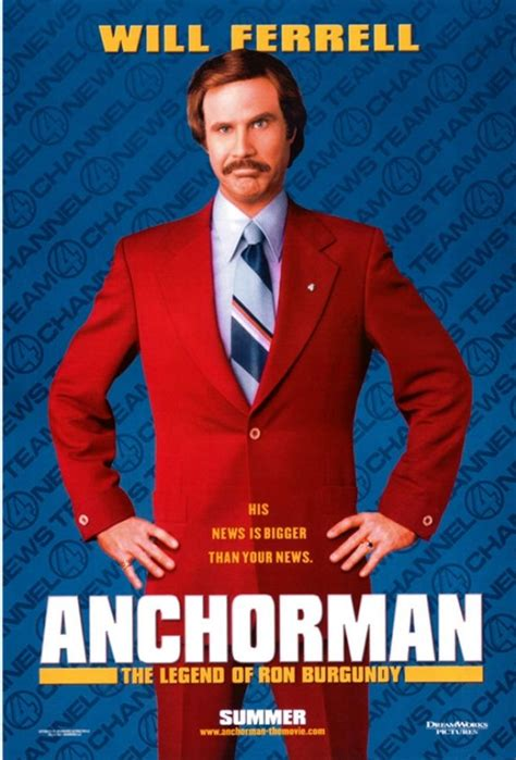 Anchorman L by Vintage Theater And Entertainment Ads Of The 2000s