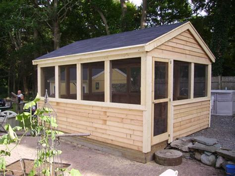 Screen House With Floor by Echo Neck Yard Solutions Beat The Bugs With A