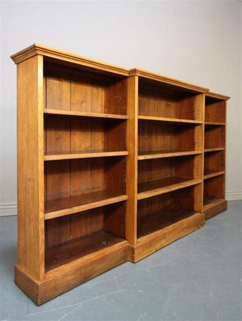 open bookshelves antique oak fronted open bookcase antiques atlas