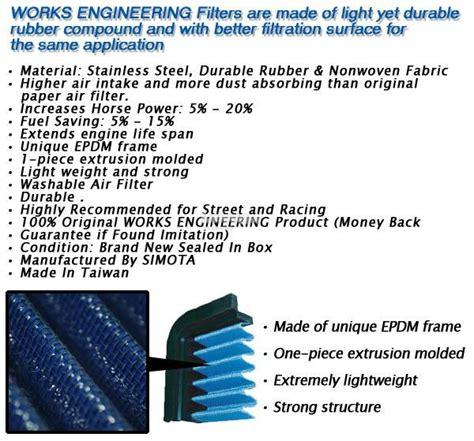 Filter Bensin Civic 06 12 Original works engineering drop in air filter end 6 10 2017 7 15 pm
