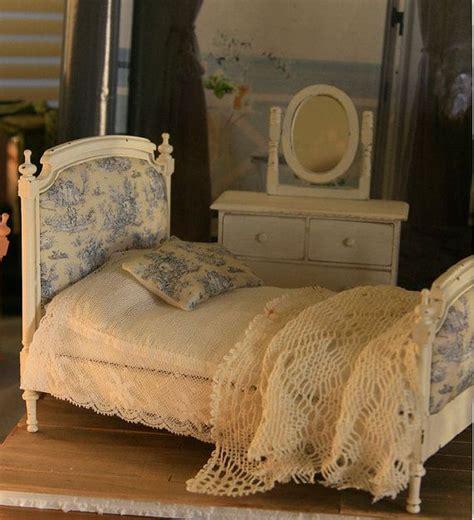 shabby chic provincial shabby chic provincial bed for dollhouse