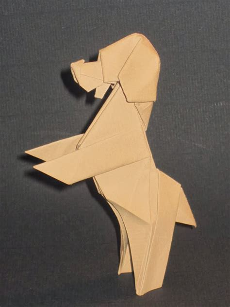 Origami Puppy - origami maniacs origami by paul frasco