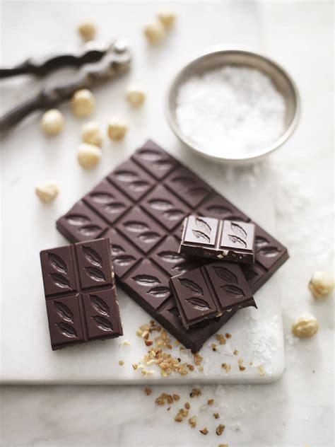 Chocolate 93 Sea Salt hazelnut and sea salt 70 chocolate bar by amelia