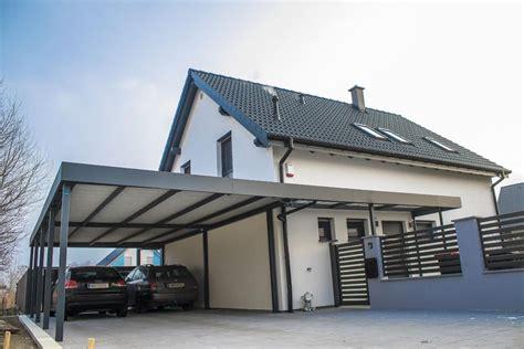 carport mit terrassendach carport mit attika vizual carports terrassendach