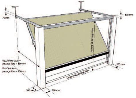 dimension porte de garage basculante standard hauteur porte de garage basculante tableau isolant thermique