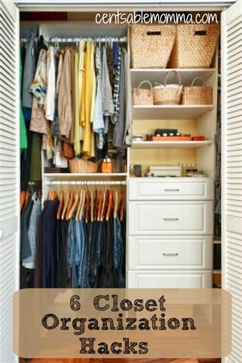 closet organization hacks 6 closet organization hacks centsable momma