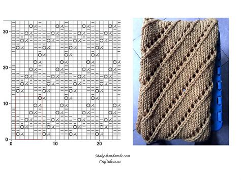 knitting diagram knitting beautiful scarf for all knitting idea craft ideas