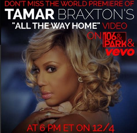 all the way home tamar braxton song