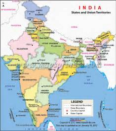 Political Map Of India by Gallery For Gt India Political Map 2012
