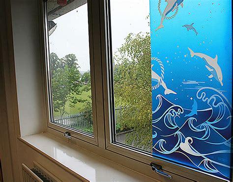 Sichtschutzfolie Fenster Wasser by Fensterfolie Selbstklebend Delfine Aquarium Fensterfolien