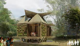 low cost bamboo housing in vietnam by h amp p architects
