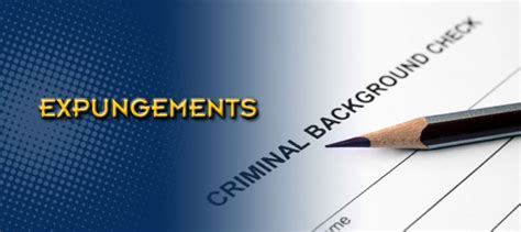 What Is Expunging A Criminal Record Expungements Krause Hirschhorn Attorneys