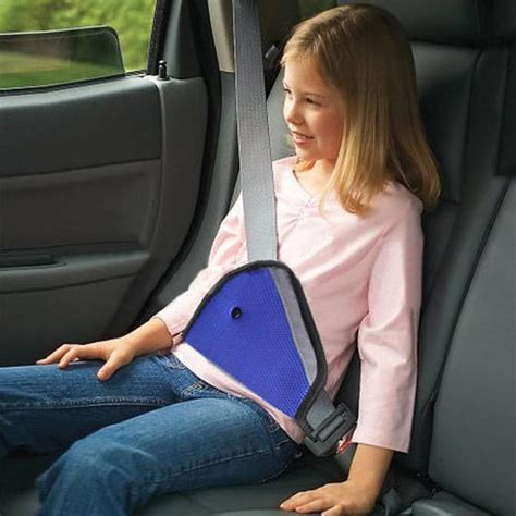 seat belt clip for booster seat blue car child safety cover harness adjuster