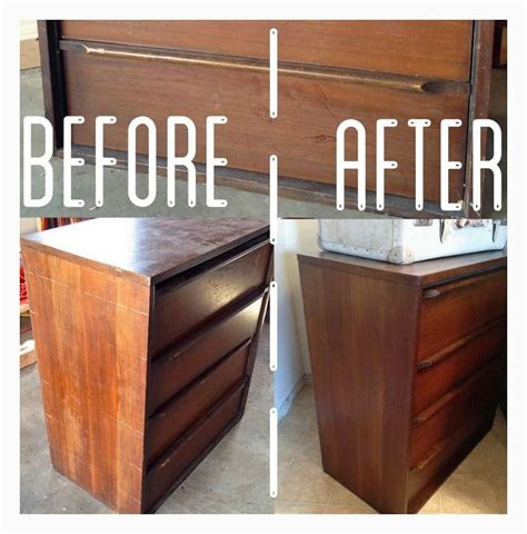 staining cabinets darker without sanding midcentury dresser re do without sanding or staining