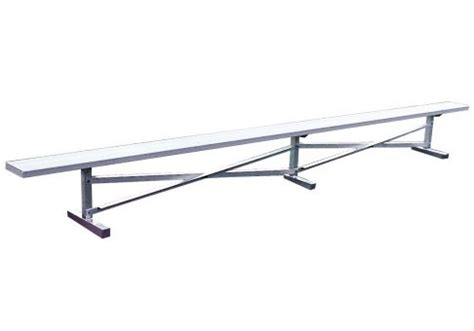 player benches aluminum player bench commercial site furnishings