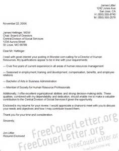 Cover Letters For Human Resources by Cover Letter Human Resources Hermeshandbags Biz