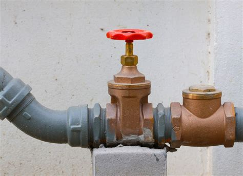 gas shut valve in cabinet where are gas valve and water valve 7 things you need to
