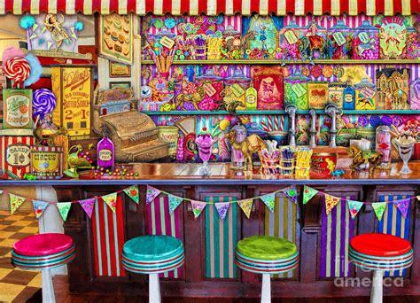 Home Sweet Home Wall Decor by Candy Shop Digital Art By Aimee Stewart
