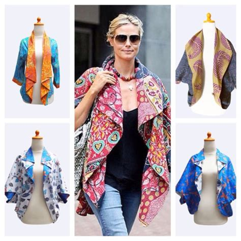 coat batik heidi klum bolero jacket cape casual s secret model wheretoget