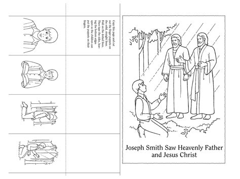 coloring pages joseph smith s first vision 12 images of lds first vision coloring page joseph smith