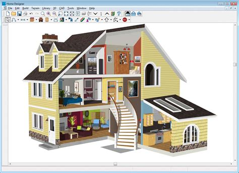 free building design software home designer architectural