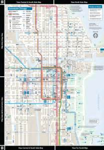 Chicago El Map by Chicago El Train Map Bing Images
